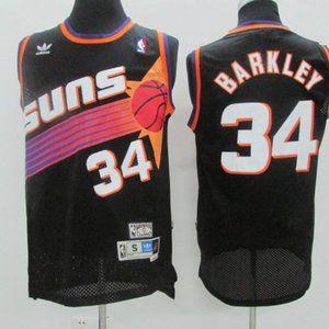 """Phoenix Suns #34 Charles Barkley Black"